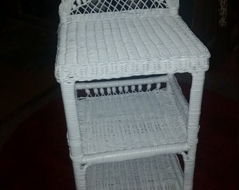Wicker Towel Rack Etsy