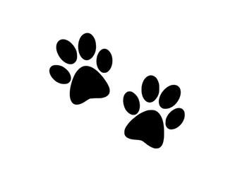 Paw Print Decal, Dog Paw Prints, Dog Cat Decal, Pet Car Decal, Dog Car Sticker, Dog Cat Vinyl, Paw Prints,Cat Paw Prints,Cat Print Decal