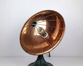 Antique 1930s Heater Vintage Steampunk Coil Heater Old 1930s Heatmaster Antique Industrial Lamp Heater Electric Heater 1930s
