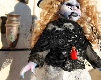 Selena Enchanted Witch Doll (Horror Art)