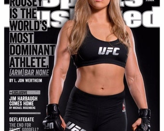 Giant 13x18 Print - Ronda Rousey Sports Illustrated Magazine Cover