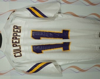 4c09829a7 ... Daunte Culpepper NFL Minnesota Vikings Football Adidas Jersey Size  Large L Minnesota Vikings Jersey vintage ...