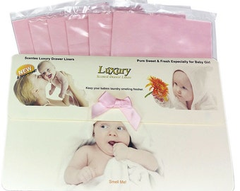 Especially for Baby Girl Scented Luxury Drawer Liners