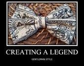 Bowtie made with the Legend of Zelda Fabric/Handmade
