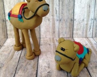 Camels for Nativity scene, manger scene camels, nativity scene camels, manger scene, nativity scene, creche, camel, camels