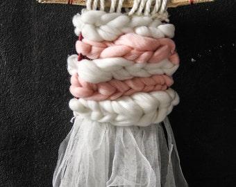 SALE! Woven Art Wall Tissage Weave Loom