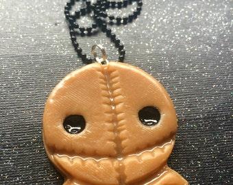 Trick R Treat Sam Pendant / Halloween Jewelry / Creepy Cute / Halloween Necklace / Sam Necklace / Trick Or Treat / TrickRTreat Jewelry