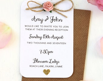 Wedding Invitations | Etsy UK