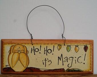 Santa Sign, Santa Claus, Santa Claus Painting, Wood Santa Sign, Wooden Santa Sign, Wood Signs, Rustic Santa Sign, Rustic Christmas Sign