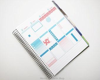 Planner Sampler Kit : June Vertical Planner Stickers 038041