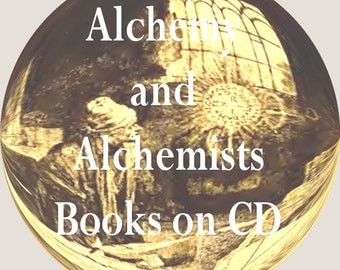 Alchemy CD Book Collection 29 Vintage Antique Philosophers Stone Alchemists Hermetic Philosophy on Disc