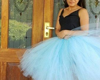 Adult Tutu,Bridesmaid Adult Tutu, Wedding Tutu Skirt, Bachelorette Party- Choose the color