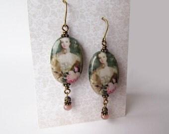 Rococo lady earrings
