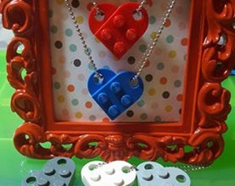 LEGO® Heart Necklace