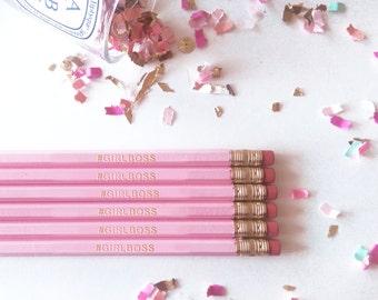 Blush Pink - #GIRLBOSS - Pencil Set