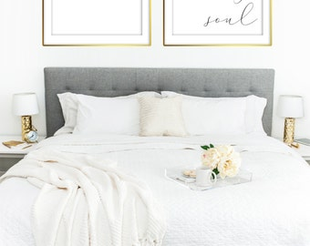 Be Still My Soul Love Marriage Family Bedroom Quote|  8x10 and 20x30 included! RQ10