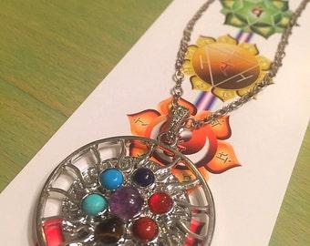 Chakra Mirror Necklace