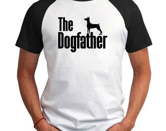 The dogfather German Pinscher Raglan T-Shirt