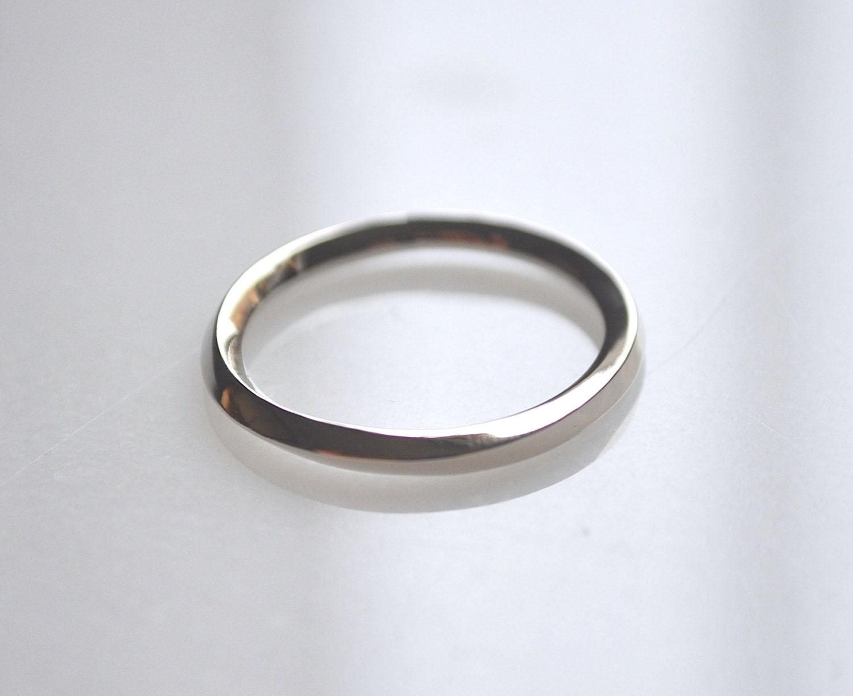 mobius ring 18kt 950 platinum wedding band 14kt by aiylamaison