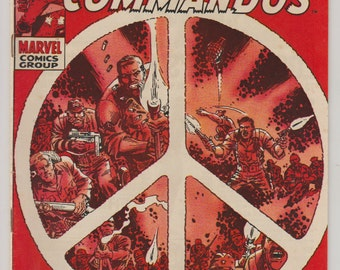 Sgt. Fury and his Howling Commandos; Vol 1, 64, Silver Age Comic Book. VF- (7.5). March 1969. Marvel Comics