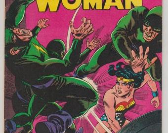 Wonder Woman, Vol 1, 172, Silver Age Comic Book. FN/VF (7.0). September 1967. DC Comics