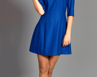Short Royal Blue Dress