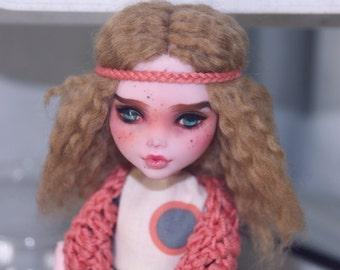 Monster High Draculaura OOAK Custom Doll Repaint