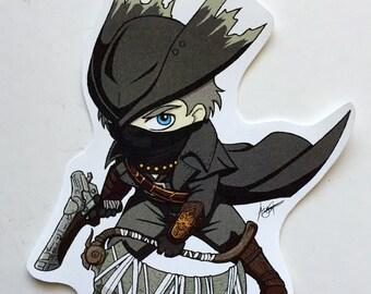 Bloodborne - The Hunter Sticker
