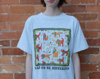 Dare to be Different Vintage 1990s Christian T-Shirt