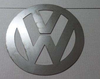 VW Metal Sign - Classic  V5