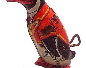 1930s J. Chein & Co Wind Up Penguin