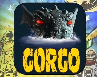 Gorgo Monster Coaster Set