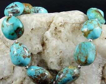 Chunky Nevada Turquoise Necklace