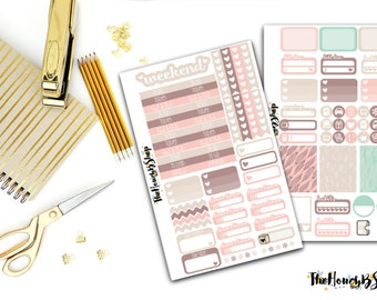 Feathers Weekly Kit | Set of 100 Stickers |