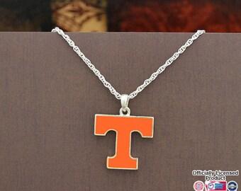 Tennessee Volunteers Epoxy Logo Necklace