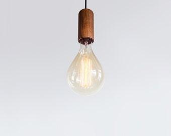 Andre Pendant Light in Walnut
