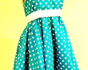 Sewing Pattern: Easy as Pie Rockabilly Dress ALL SIZES