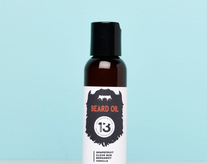 Grapefruit, Clove Bud, Bergamot and Vanilla Beard Conditioning Oil
