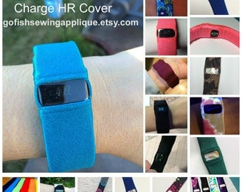 Fitbit Charge HR band cover, Fitbit Charge HR band fix, Fitbit Charge HR sleep band, Wearable Tech Jewelry