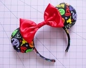 Mickey Mouse and Friends Theme Parks Print Mouse Ears Headband