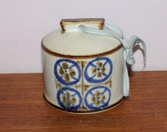 Sweet vintage retro ceramic Bell. Designed by Marianne Starck for Michael Andersen & son, Denmark Scandinavian.
