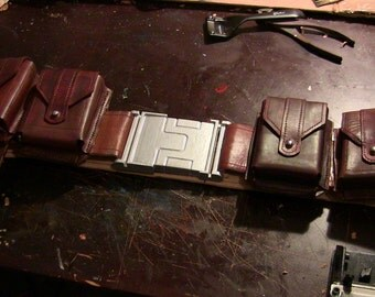 Captain America: The First Avenger Main Belt with Pouches and Holster