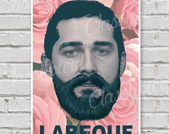 Shia LeBeouf Print