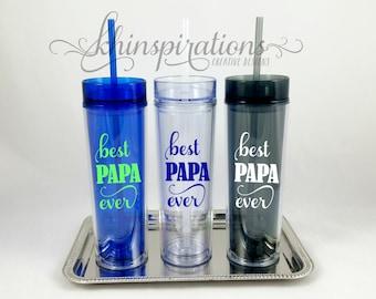 Papa Mug, Papa Gifts, Best Papa Ever, Dad Mug, Grandpa Mug, Grandpa  Gifts, Papa, Papa Bear, Best Papa Ever Tumbler