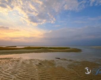 Cape Cod Summers ~ Chapin Beach,Dennis, Cape Cod, Abstract, Beach Photography, Sunset, Coastal Home Decor, Nautical, Wall Art, Ocean,Artwork