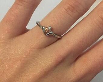 Silver Ring/Silver Jewellery/Gemstone/Orange gemstone/Gift ideas/Mothers day