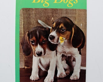 Little Dogs, Big Dogs Whitman Coloring Book 1967