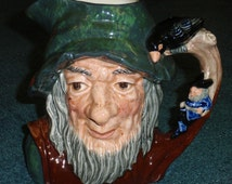 Rip Van Winkle Royal Doulton LARGE Toby Character Jug D6463 Great Unique Storytime Collectible Gift!