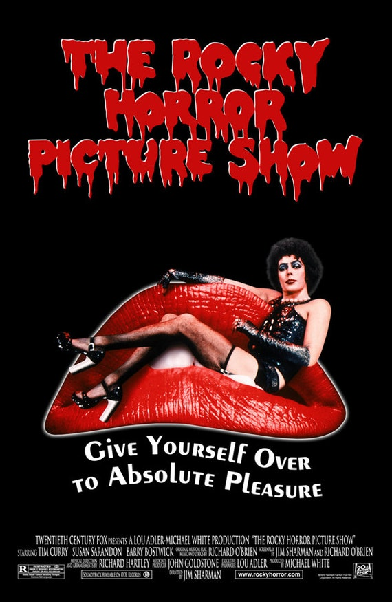 The Rocky Horror Picture Show 1975 Movie Poster by ...