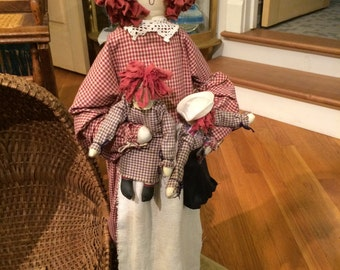NEW ITEM: Vintage Rag Doll